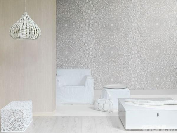 Trang trí nhà bằng vật liệu lấy cảm hứng từ ren