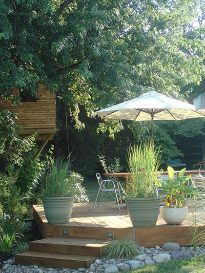 Vườn xinh trong nhà