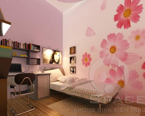 Nội thất hiện đại 44 m2 cho gia đình trẻ