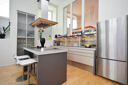 Những mẫu phòng bếp đẹp năm 2012