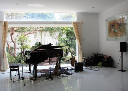 Góc nhà của ca sĩ Cẩm Vân ngày Tết