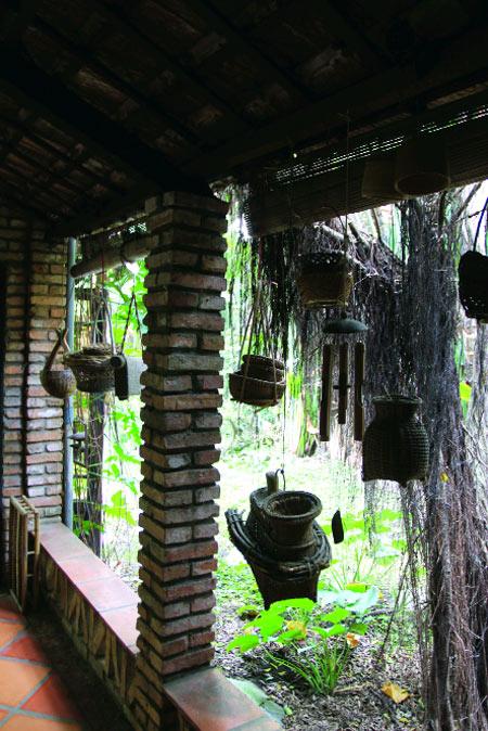 Khu vườn yên tĩnh của nhạc sĩ Dương Thụ