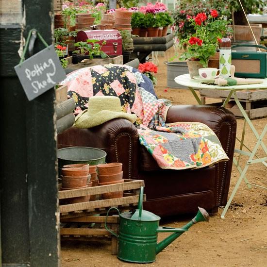 Đắm mình trong những góc vườn vintage xinh đẹp