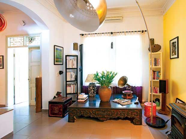 Không gian tổ ấm của nhà thiết kế Hà Trương