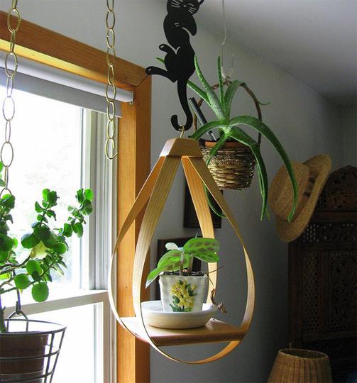 """Tạo """"vườn treo"""" tiện lợi cho nhà hẹp"""