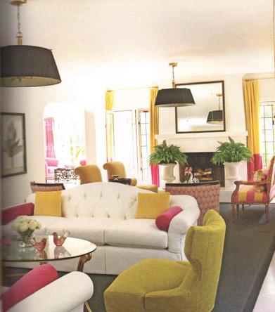 Xu hướng trang trí phòng khách 2012