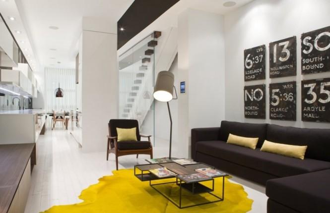 Sắc vàng trẻ trung và hiện đại cho ngôi nhà của bạn