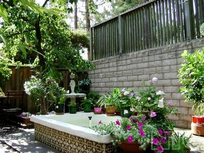 Sân vườn - Góc thư giãn với mảng xanh thiên nhiên