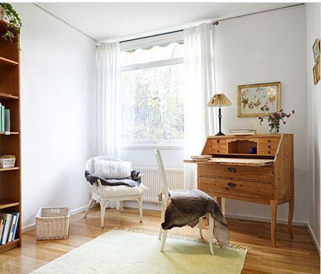 Thêm thảm trải sàn cho căn phòng ấm cúng