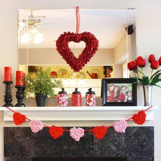 Valentine lãng mạn với trái tim nồng ấm