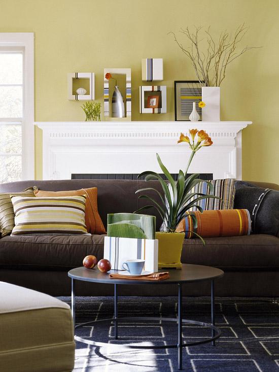 Đa dạng cách trang trí phòng khách