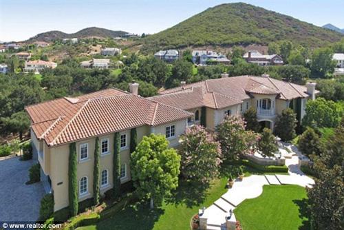 Ngắm nhà…đi thuê của Britney Spears