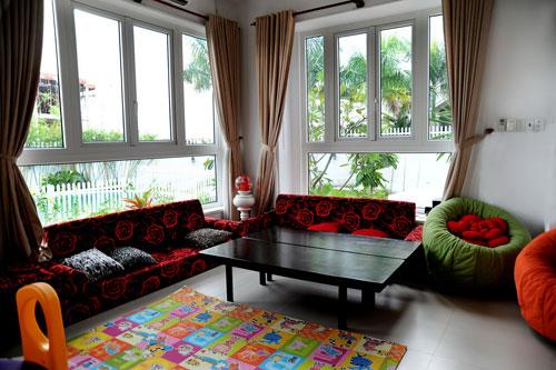 Ngôi nhà phong cách Tây của Emi Hương
