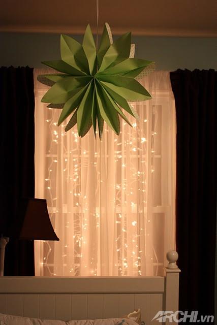 Phòng ngủ lung linh đón Noel về