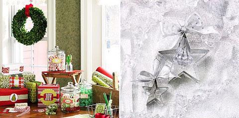 Trang trí Noel với phụ kiện nhà bếp