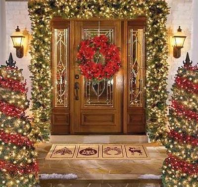Một vài ý tưởng trang trí ngoại thất dịp Giáng Sinh