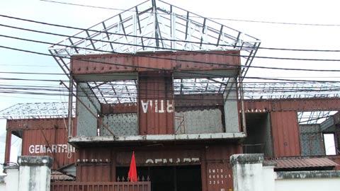 Biệt thự Container độc nhất Sài Gòn
