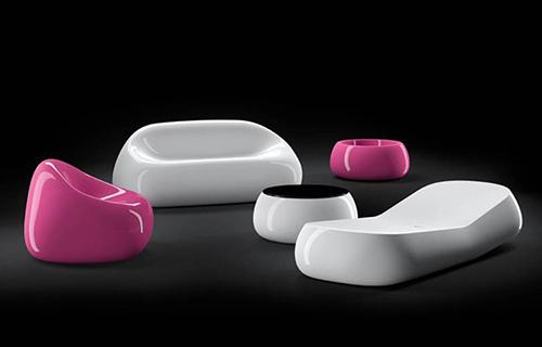 Ngoại thất ấn tượng với ghế kẹo cao su