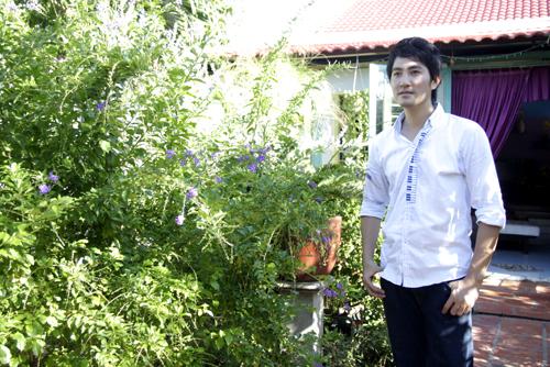 Thăm nhà vườn của Nguyễn Phi Hùng