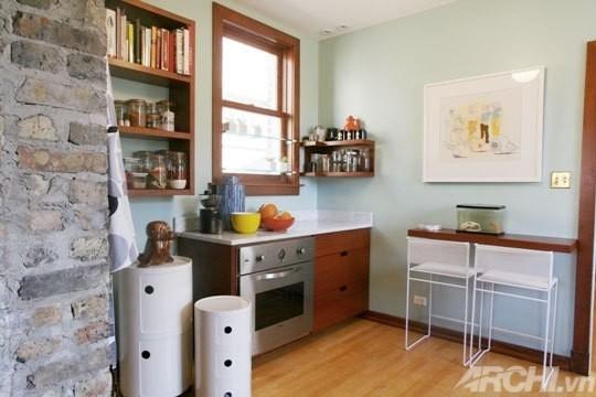 Quầy bar ăn sáng cho phòng bếp nhỏ