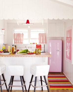 Thay đổi màu sắc cho căn bếp