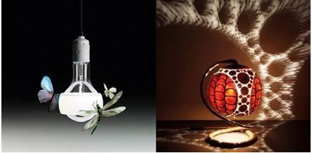 Đèn trang trí 'độc' và đẹp cho nhà bạn
