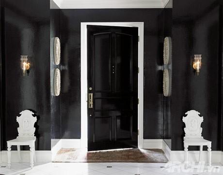Mới lạ với căn phòng màu đen