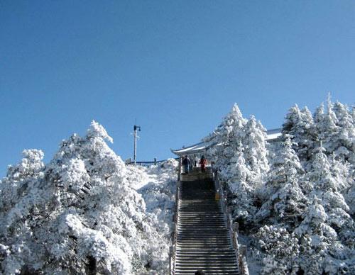 'Bồng lai tiên cảnh' trên đỉnh núi Nga Mi