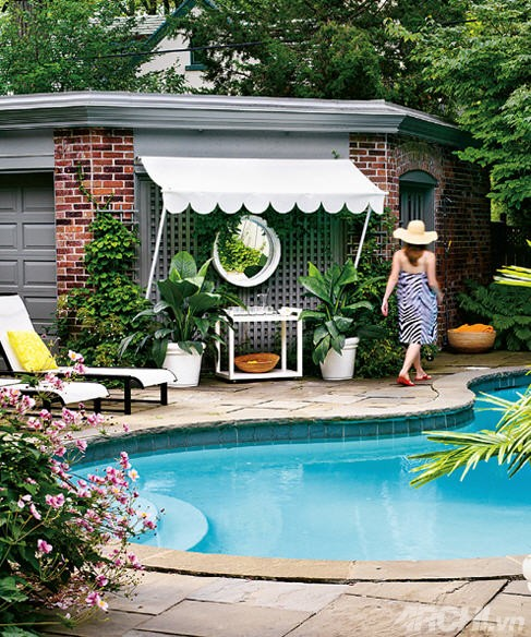 Thiết kế phòng nghỉ cho bể bơi nhà bạn