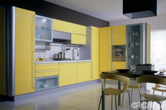 Sắc vàng cho căn bếp mùa thu