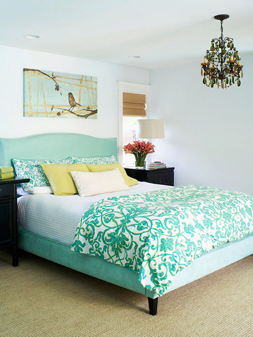 Trang trí giường ngủ ấn tượng