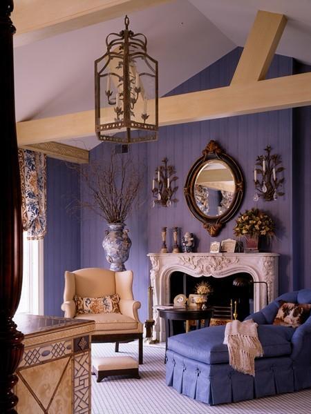Trang trí ngôi nhà với màu tím mộng mơ