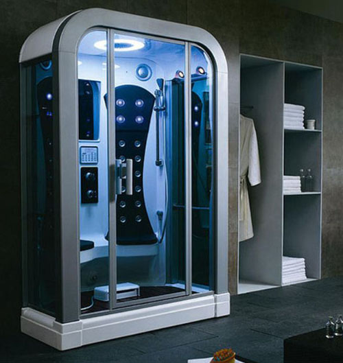 Thiết kế phòng tắm khác lạ