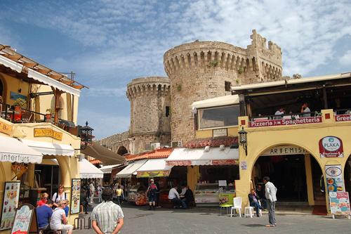 Thị trấn cổ kính trên đảo Rhodes