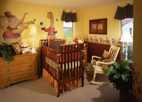 Phòng ngủ ngộ nghĩnh dành cho trẻ