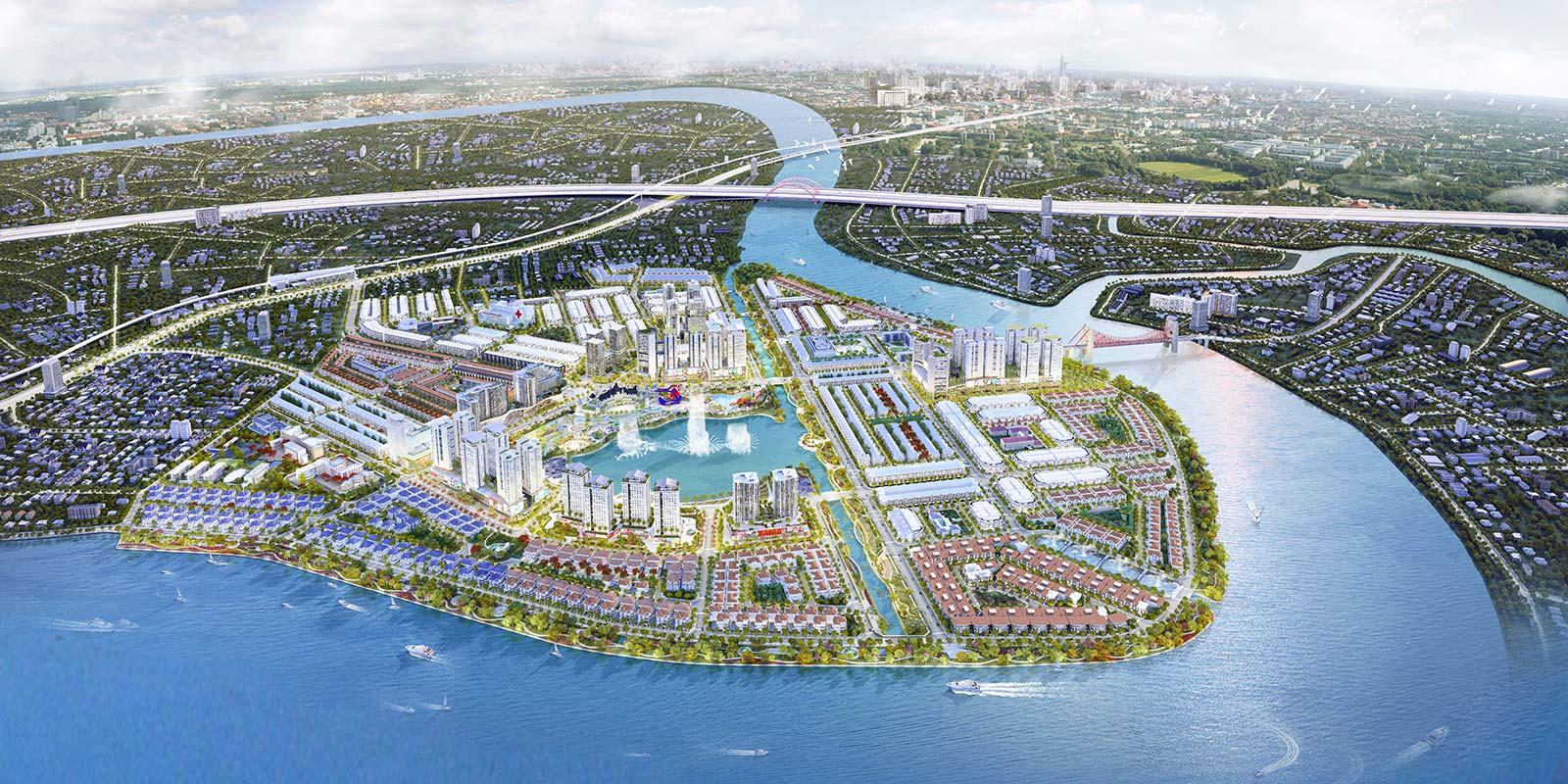 Vạn Phúc City - Kiệt tác vàng cạnh sông Sài Gòn 460207894