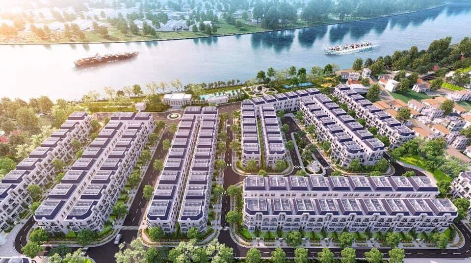 Phối cảnh tổng thể dự án Solar City - CafeLand.Vn