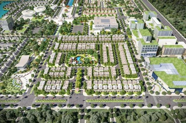 Phối cảnh dự án khu đô thị Everde City - CafeLand.Vn
