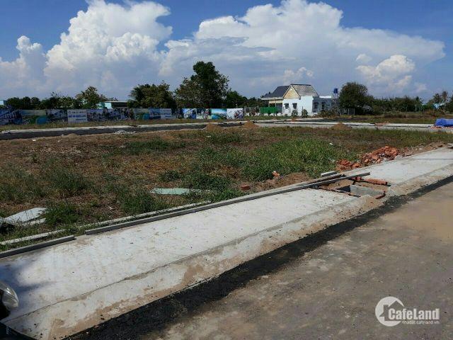 Bán lô đất góc 2MT ngay KDC Mỹ Yên - Tân Bửu , Sổ hồng riêng từng nền