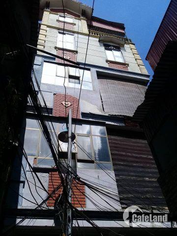 Bán nhà riêng Bạch Mai, dt 30m2, 5 tầng, giá 2.4 tỷ.