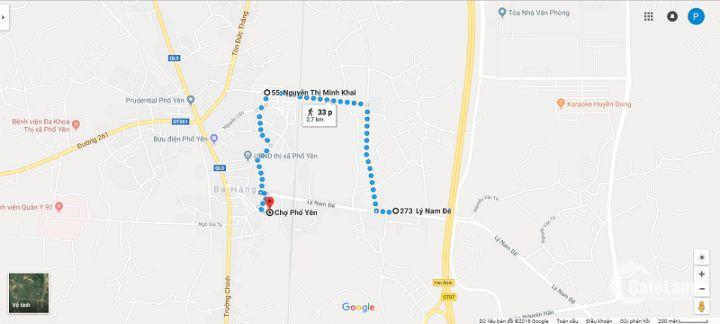 Chính chủ cần bán nhà 2 tầng, Khu Ẩm Thực Lê Hồng Phong, Phổ Yên, Thái Nguyên. DT: 111,7m2 Giá: 1,25 tỷ.