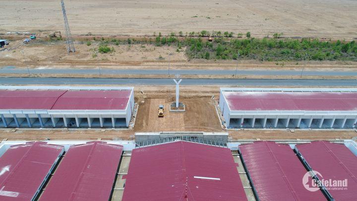 Bán mặt bằng kinh doanh, kiốt, mặt tiền đường 60m vành đai sân bay Long Thành, giá từ 69tr, CK 5%