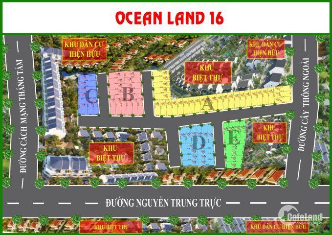 Cơn bão đất nền mang tên Ocean land 16 mt cây thông ngoài búng gội cửa dương phú quốc