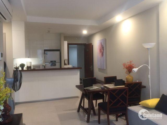 Cho thuê căn hộ Gold View Quận 4, nhà đẹp thiết kế nội thất hiện đại.