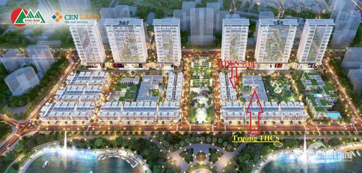 Shophouse Khai Sơn TOWN 5 tầng + 1 tum, 2km đến phố cổ