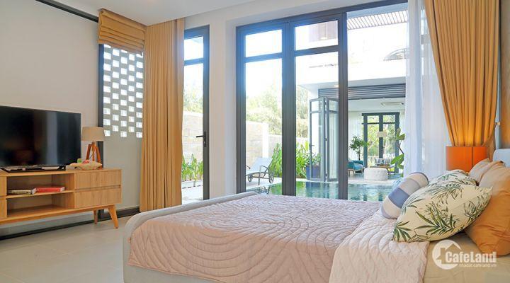 Biệt thự nghỉ dưỡng ZENNA VILLAS khu vực Long Hải, gồm 270 m mặt tiền biển.diện tích 350m2, giá 8.4 tỷ