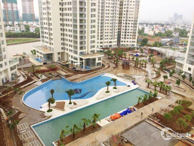 Bán căn hộ Đảo Kim Cương Quận 2, căn 1pn diện tích 51m2, tầng 06 view trực diện nộ khuôn công viên, hồ bơi 2300m2