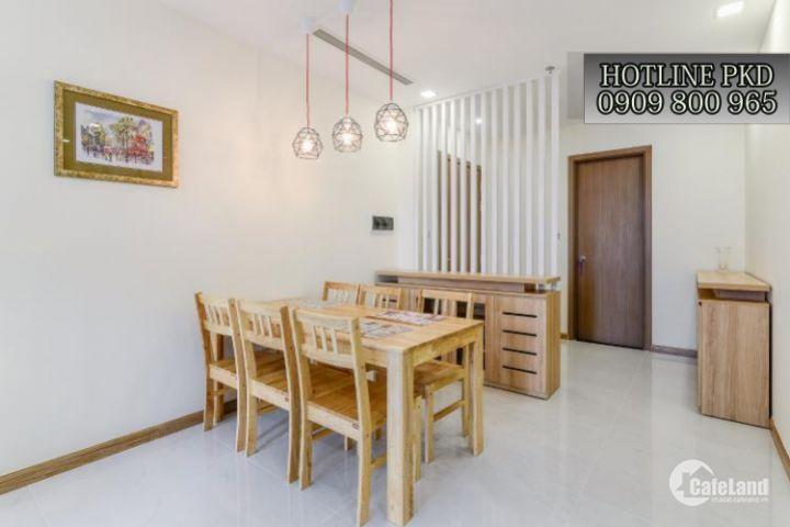Cho thuê căn hộ Vinhomes Tân Cảng 2 phòng ngủ giá tốt nhất thị trường LH: 0909800965
