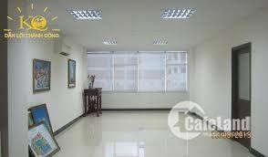 Cho thuê  gấp 200m2 văn phòng phố Tràn Thái Tông, Cầu Giấy,mặt tiền 9m giá rẻ chỉ 200k/m2
