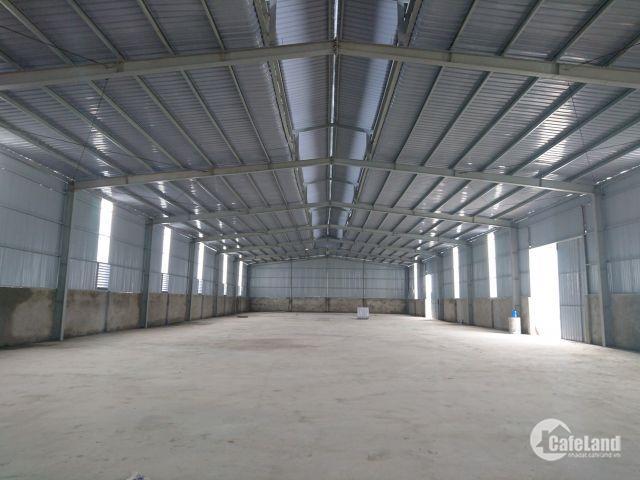 Tuần vàng KM , kho xưởng đẹp cho thuê 400m2, 700m2 tại Hà Nội (Chính Chủ)